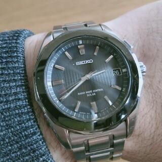 SEIKO - セイコー ブライツ 7B42-0AG0 ソーラー電波 メンズ腕時計