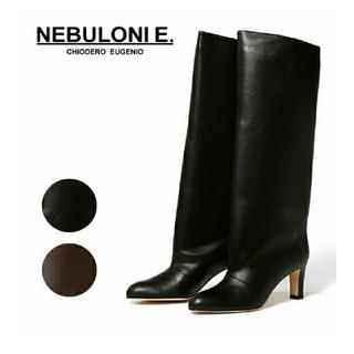 DEUXIEME CLASSE - NEBULONIE ネブローニ ロングブーツ 黒