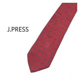 ジェイプレス(J.PRESS)の極美品✨J.PRESS 花柄 ネクタイ 1-JP1(ネクタイ)