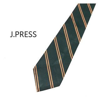 ジェイプレス(J.PRESS)の極美品✨J.PRESS ストライプ ネクタイ 1-JP2(ネクタイ)
