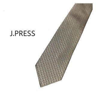 ジェイプレス(J.PRESS)の美品✨J.PRESS ストライプ ネクタイ 1-JP3(ネクタイ)