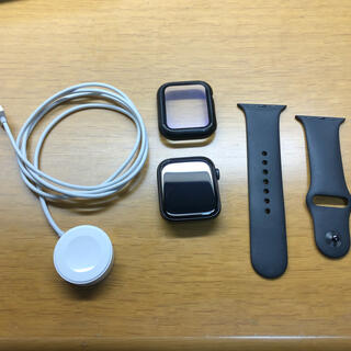 Apple Watch - Apple Watch 5 44mm スペースグレー