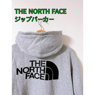 THE NORTH FACE - THE NORTH FACE ジップパーカー バックロゴ
