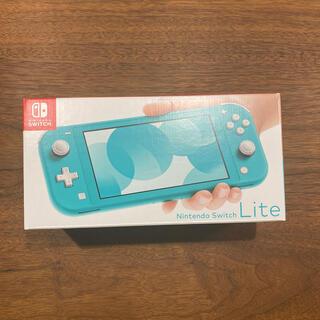 ニンテンドースイッチ(Nintendo Switch)のNintendo Switch  Lite ターコイズ 二台(家庭用ゲーム機本体)