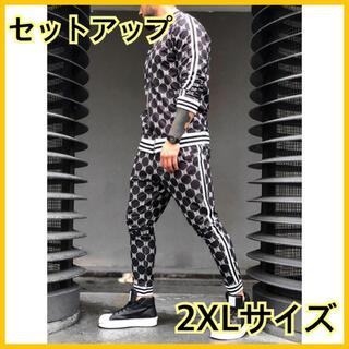 ラスト1品☆韓国 トレンド ストリート サイドライン セットアップ ジャージ