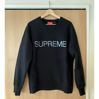 Supreme - supreme 17FW ZigZagStitch Crewneck Lサイズ