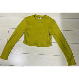 しまむら - 長袖 ショット丈 黄緑