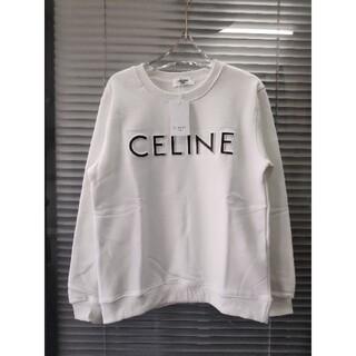 celine - 人気新品 CELINE★ スウェット L 暖かい 美品