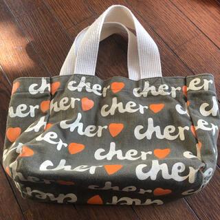 Cher - cher シェル エコトートバッグ