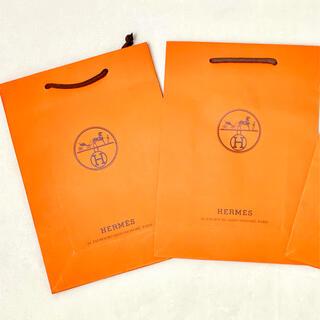 Hermes - エルメス HERMES 中 紙袋 2枚セット