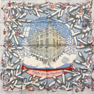 Hermes - HERMES スカーフ カレ90 フォーブル24番地のクリスマス