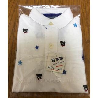 DOUBLE.B - 【新品・未使用】ミキハウス ダブルビー プチベア 星 ポロシャツ (100)