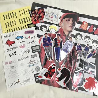 NCT 127  limitless    ステッカー ポスター