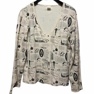 アートヴィンテージ(ART VINTAGE)のTUSKEHECKE ヴィンテージ  マリア 古着 トップス  ロングTシャツ(Tシャツ/カットソー(七分/長袖))