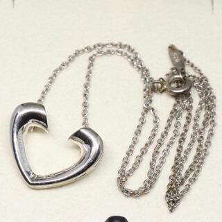 ティファニー(Tiffany & Co.)のティファニー ハート ネックレス シルバー(ネックレス)