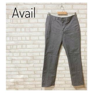 アベイル(Avail)のAvail メンズ ストレートチノパン L グレー(チノパン)