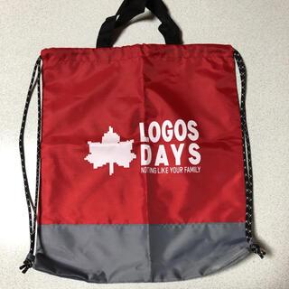 ロゴス(LOGOS)の【新品未使用】LOGOS バッグ エコバッグ ナップサック(エコバッグ)