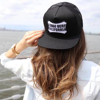 ベイフロー(BAYFLOW)の湘南で人気☆LUSSO SURF ボックスロゴ刺繍キャップ☆帽子(キャップ)