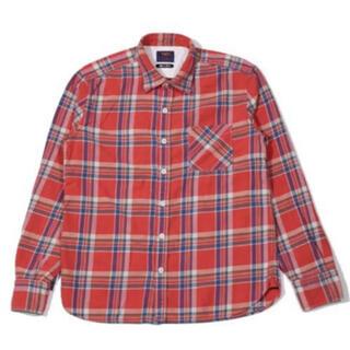 ティーエムティー(TMT)のTMT ネルシャツ ティーエムティー チェックシャツ M キムタク アメカ(シャツ)