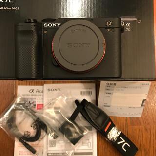 SONY - Sony a7c  フルサイズ ミラーレス一眼 ボディのみ ブラック