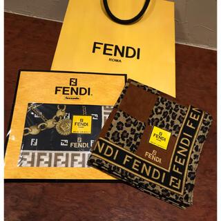 フェンディ(FENDI)の新品 FENDI フェンディ ハンカチ 2枚セット(ハンカチ)