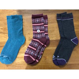 コロンビア(Columbia)の新品コロンビア Columbia メンズソックス 靴下3足セット209(ソックス)