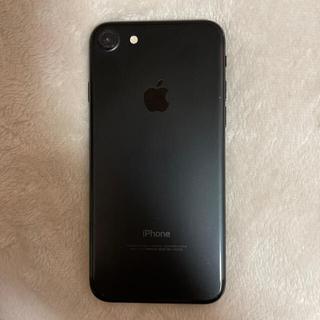 アイフォーン(iPhone)の♡iphone 7 Black 32GB sim フリー♡(スマートフォン本体)