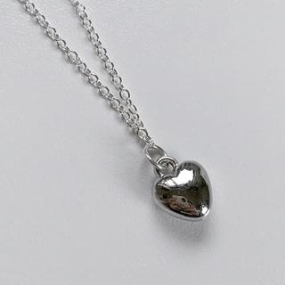 バブルス(Bubbles)のSilver heart necklace (ネックレス)