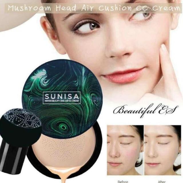 SUNISA エアクッションCC クッションファンデーション コスメ/美容のベースメイク/化粧品(ファンデーション)の商品写真