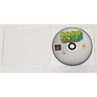 プレイステーション(PlayStation)のみんゴル(みんなのGOLF) プレステ プレイステーション PSソフト(家庭用ゲームソフト)