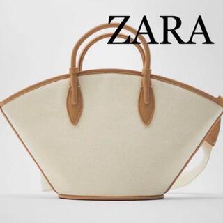 ZARA - ZARA キャンバスバック