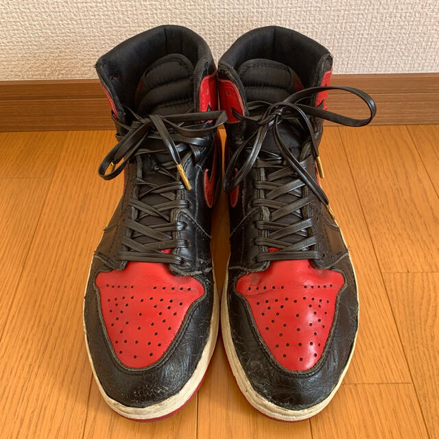 NIKE(ナイキ)のNIKE AIR  JORDAN1 BRED94年製 26.5 /8.5 メンズの靴/シューズ(スニーカー)の商品写真