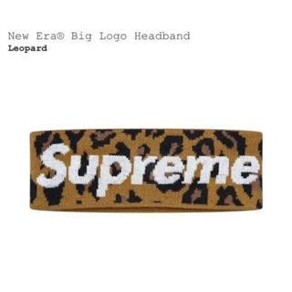 Supreme - Supreme New Era Big Logo Headband 豹柄