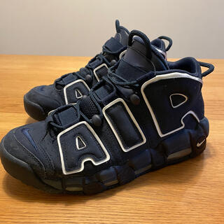 NIKE - 中古NIKE AIR MORE UPTEMPO 96 obsidian27センチ