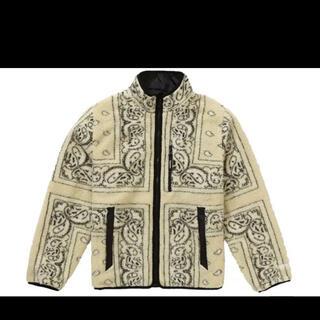 Supreme - Supreme Reversible Bandana Fleece Jacket