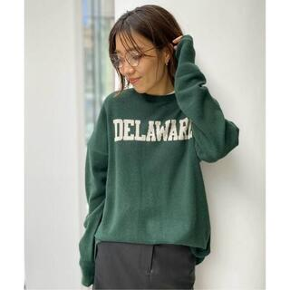 L'Appartement DEUXIEME CLASSE - GOOD GRIEF/グッドグリーフCashmere Logo Knit