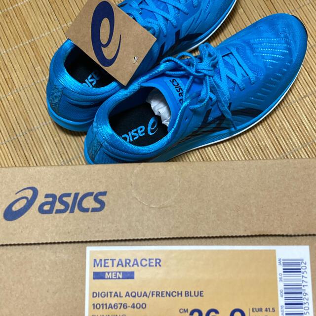 asics(アシックス)のアシックスランニングシューズ メタレーサー 26.0cm新品 スポーツ/アウトドアのランニング(シューズ)の商品写真