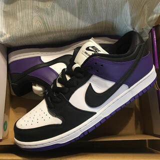 NIKE - us10 NIKE SB DUNK LOW COURT PURPLE ダンクOG