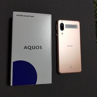 AQUOS - AQUOS  sense3 basic  アクオスSHV48 新品 シャープ
