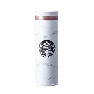 スターバックスコーヒー(Starbucks Coffee)の韓国スタバ マーブルホワイト タンブラー ♡(タンブラー)