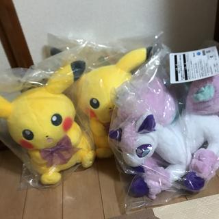 BANDAI - ポケモン 一番くじ C賞 ピカチュウ ぬいぐるみ