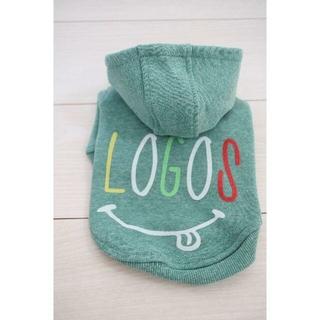 ロゴス(LOGOS)のロゴスマイル グリーン Sサイズ(犬)