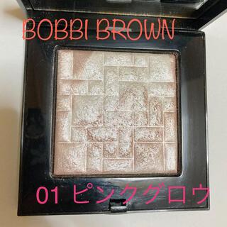 ボビイブラウン(BOBBI BROWN)のボビーブラウン ハイライティングパウダー ピンクグロウ✨(フェイスカラー)