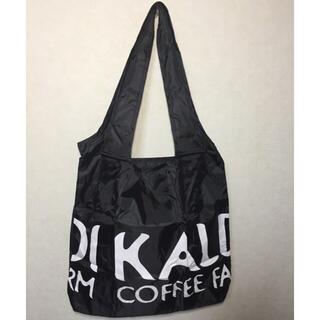カルディ(KALDI)のKALDI オリジナルエコバッグ ブラック 新品・未使用(エコバッグ)