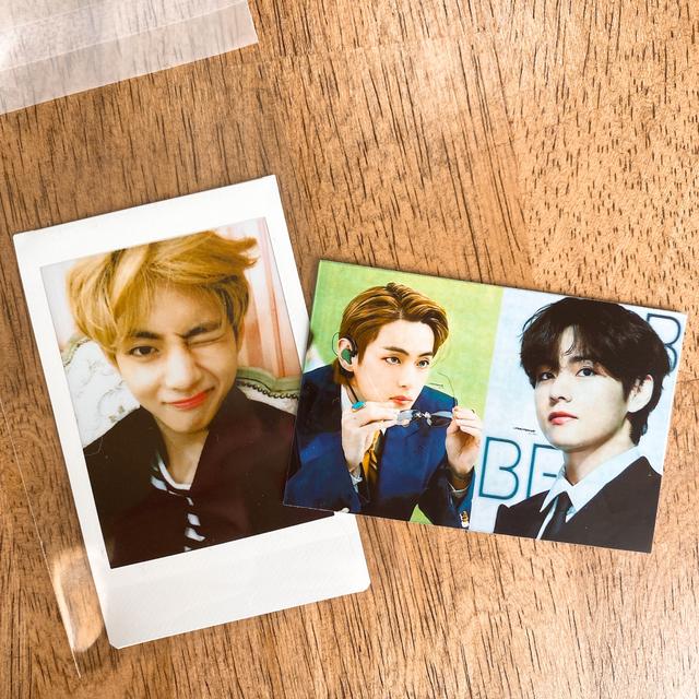 防弾少年団(BTS)(ボウダンショウネンダン)のVT×BTS  ラトリエ 香水 テヒョン テテ V エンタメ/ホビーのCD(K-POP/アジア)の商品写真