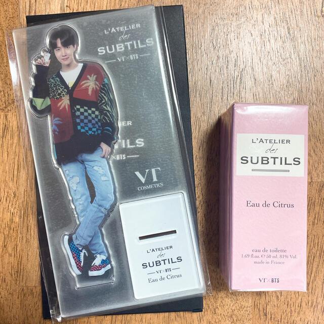 防弾少年団(BTS)(ボウダンショウネンダン)のVT×BTS  ラトリエ 香水 ホソク ホビ エンタメ/ホビーのCD(K-POP/アジア)の商品写真