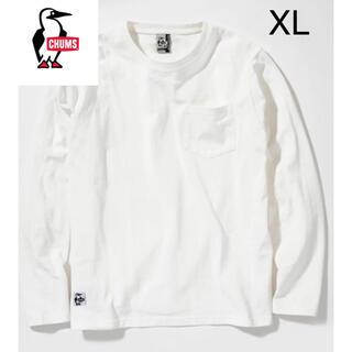 チャムス(CHUMS)の新品タグ付き CHUMS ユタポケットロングTシャツmen's XLサイズ(Tシャツ/カットソー(七分/長袖))