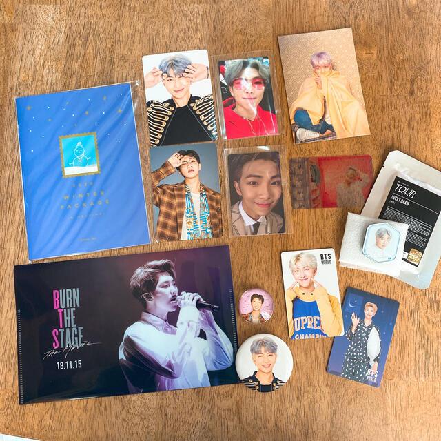 防弾少年団(BTS)(ボウダンショウネンダン)のVT×BTS  ラトリエ 香水 ナムジュン ナム RM エンタメ/ホビーのCD(K-POP/アジア)の商品写真
