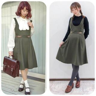 F i.n.t - フィント ♡ ウエストベルトジャンパースカート ♡