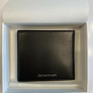 シーケーカルバンクライン(ck Calvin Klein)の新品・未使用 CKカルバン・クライン財布(折り財布)